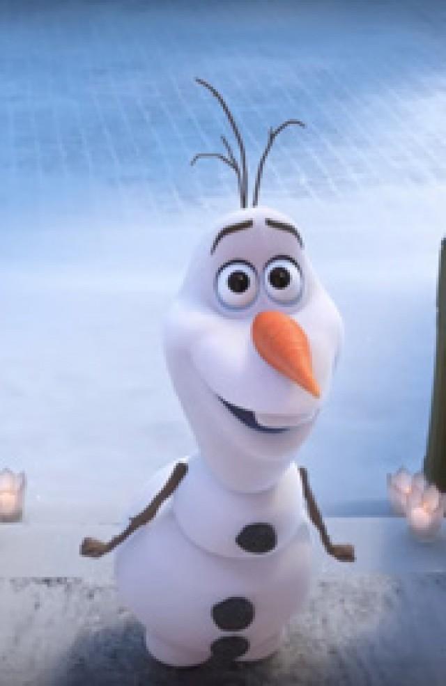 『アナ雪』オラフの短編映画が11月にイギリスで公開